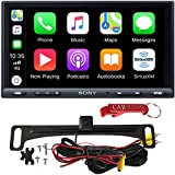 Sony XAV-AX5000 7' Car Multimedia Receiver Safe Driver's Bundle with HD Backup Camera. 1DIN Chassis with Bluetooth, Apple Car Play, Android Auto, Sirius XM Ready.
