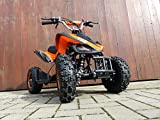RV-Racing Quad Mini Kinder ATV 6 Zoll 49cc 2Takt Pocketquad Kinderquad Orange