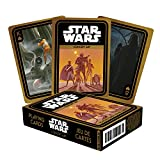 AQUARIUS Star Wars Playing Cards - Concept Art Deck of Cards for Your Favorite Card Games - Officially Licensed Star Wars Merchandise and Collectibles - Poker Size with Linen Finish
