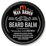 Man Arden Beard Balm - Soften and Moisturizes Beard with Beeswax and Shea