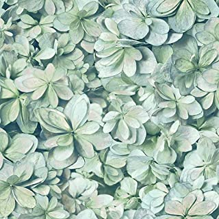 RoomMates Hydrangea Flower Peel and Stick Wallpaper
