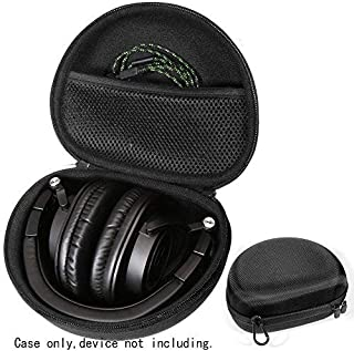 Alltravel Headphone Case for Audio-Technica ATH-M50xBT, ATH-M20X, M50, M40X, M50X, M30x, M50xMG; Mpow H5, 059, H1, H2, H10; Sony MDR7506; Sennheiser HD 4.50 SE, 4.30 G; Beats Studio, 2.0, 3.0