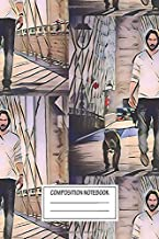 Notebook: Keanu Reeves , Journal for Writing, Size 6