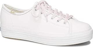 Keds Triple Kick Leather Faux Shearling Women 9 White