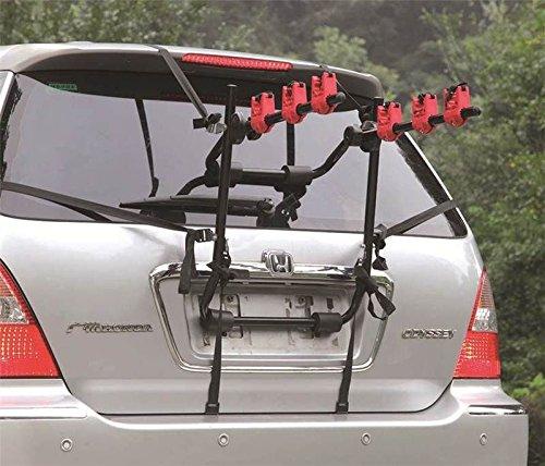 Marko Automotive - Soporte de bicicletas para maletero de coche (3 bicicletas)