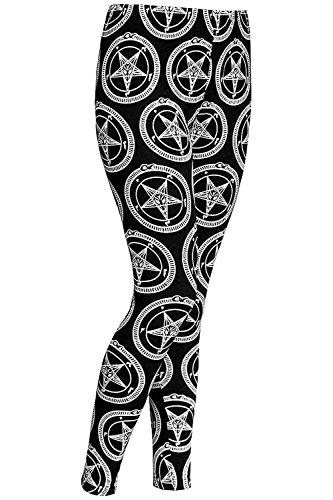 Preisvergleich Produktbild Killstar Leggings Baphomet Schwarz XS