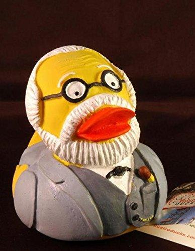 Sigmund Freud Badeente -Quietsche-Ente- (Badeente aus Naturkautschuk): Zubehör