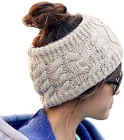 Ieasysexy Women Handmade Knit Headband Crochet Headwrap Ear Warmed Headband Head Wrap