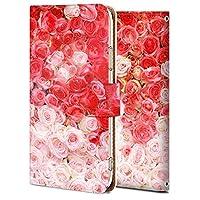 Galaxy A32 5G ケース 手帳型 ギャラクシーA32 カバー スマホケース おしゃれ かわいい 耐衝撃 花柄 人気 純正 全機種対応 赤いバラ フラワー 写真.風景 ファッション 9727331
