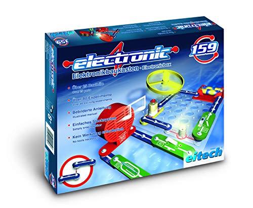 Eitech - 2042575 - Jeu De Construction - C159 - Expériences - Électronique Set - 25 Pièces