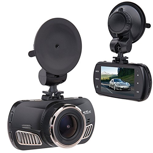 Saimly 2.7' Car Dash Cam, Ambarella A12 Super HD 1440P 170 Degree Wide car camera Recorder G-sensor...