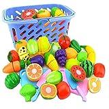 YepYes Simulative Küche Spielzeug 4pcs kreative Fruchtschneide Spielzeug mit Schneidebrett Küche Accessoires für Kinder Lernspielzeug