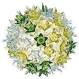 Kartell Bloom Cw2 Lampada da Parete G9, Multicolore (Menta), Ø 28 cm H 22 cm