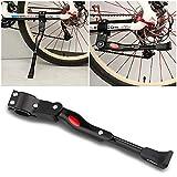 mopalwin Fahrradständer für 24-27 Zoll, Höhenverstellbarer Fahrradständer mit Anti-Rutsch Gummifuß Aluminiunlegierung für Mountainbike, Rennrad, Fahrräder(22-28 Zoll/Schwarze)