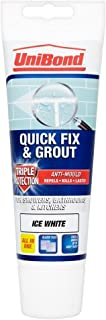 UniBond 1616659 Triple Protect Anti-Mould Fix and Grout Tube - White by Unibond