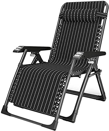 SACKDERTY Lekki leżak do opalania Zero Gravity Patio składane leżaki Fotel rozkładany na kempingu Leżaki do opalania Trawnik Biuro na zewnątrz Plaża Czarny przenośny fotel ogrodowy