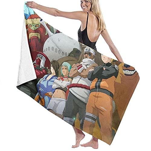 asdew987 Anime Naruto Shippuden All Tailed Beast Wallpapers Toalla de playa Juego de toallas de baño baño Accesorios Toalla de piscina Toalla de viaje y baño 80 cm x 130 cm