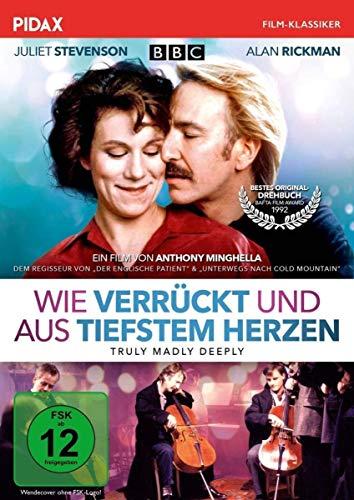 Wie verrückt und aus tiefstem Herzen (Truly Madly Deeply) / Preisgekrönter Film von Anthony Minghella ( Der englische Patient ) (Pidax Film-Klassiker)
