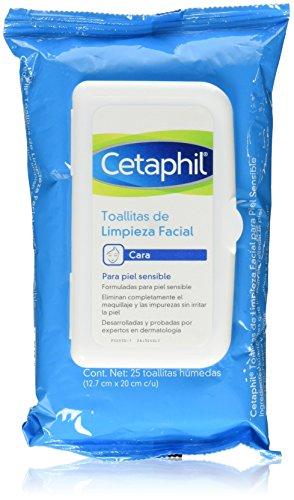Toallitas Desmaquillantes Reutilizables marca Cetaphil