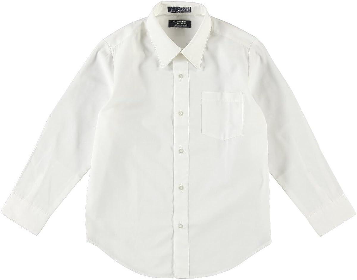French Toast School Uniform Boys Long Sleeve Classic Dress Shirt