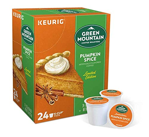Green Mountain Cofffee Roasters Pumpkin Spice 24 Count