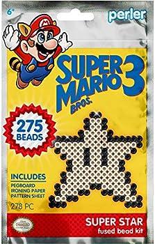 Perler Beads Super Mario Bros Super Star Kit