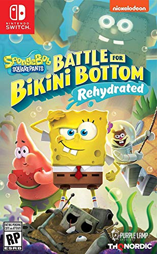 Spongebob SquarePants: Battle for Bikini Bottom - Rehydrated - Nintendo Switch - Standard Edition - Nintendo Switch