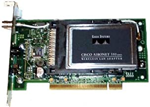 Cisco Aironet 350 Series 11Mbps Wireless LAN PCI Adapter (AIR-PCI352)