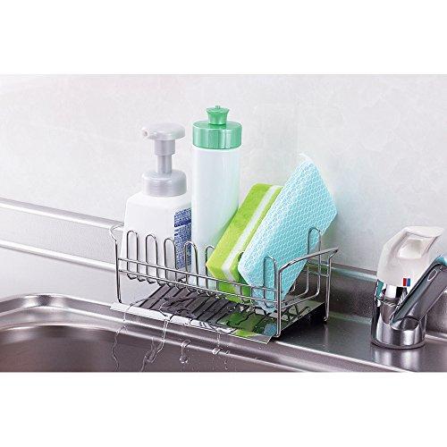 下村企販『TSUBAME水が流れる洗剤スポンジラック』