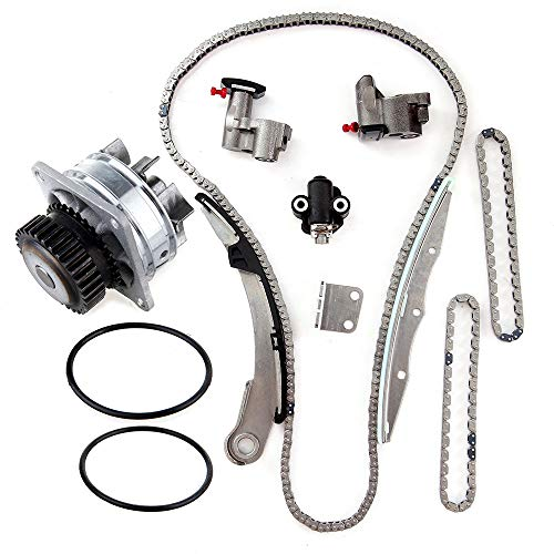 AINTIER Engine Timing Chain Water Pump Kit replacement for 13070-7Y016 for NISSAN Altima Maxima Quest 3.5L 2004 2006