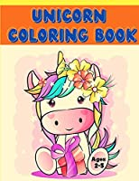 Unicorn coloring book for kids ages 2-5: 18 unicorns illustrations for coloring Ideal gif for traveling, camping for girls and boys Large 8.5 x 11 inch size