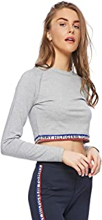 Tommy Hilfiger T-Shirts For Women, XL, Grey