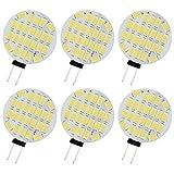 Lampadina LED G4, 3 W, sostituisce lampadine alogene da 30 W, 3200 K, 400 lm, attacco G4, 12 AC/DC, angolo di diffusione di 120°, non dimmerabile, confezione da 6 [Classe energetica A++]