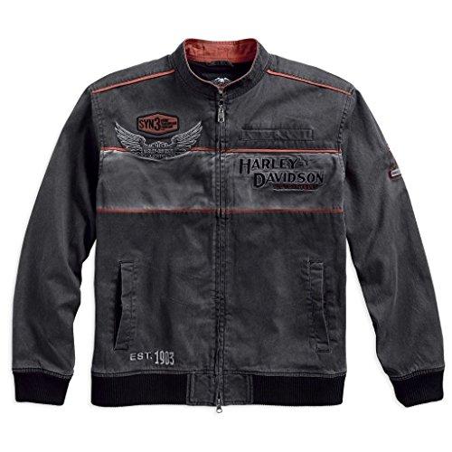 HARLEY-DAVIDSON® Men's Iron Block Casual Jacket - 98577-17VM (XL)