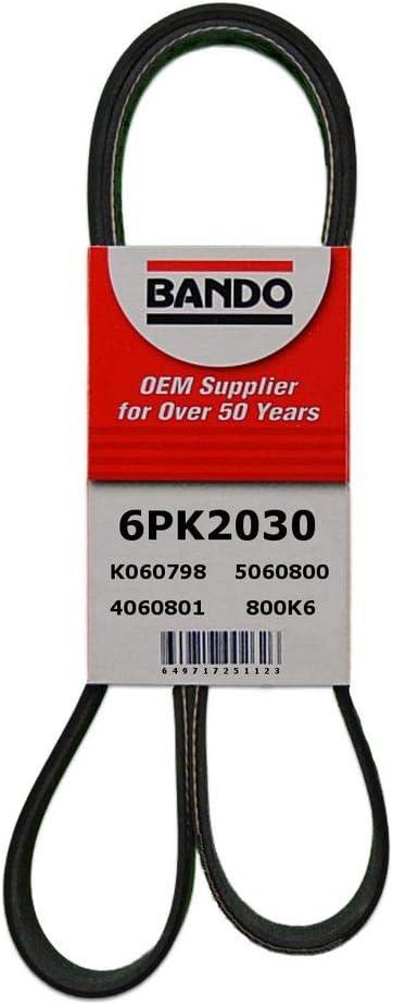 Bando 6PK1675 OEM Quality Serpentine Belt