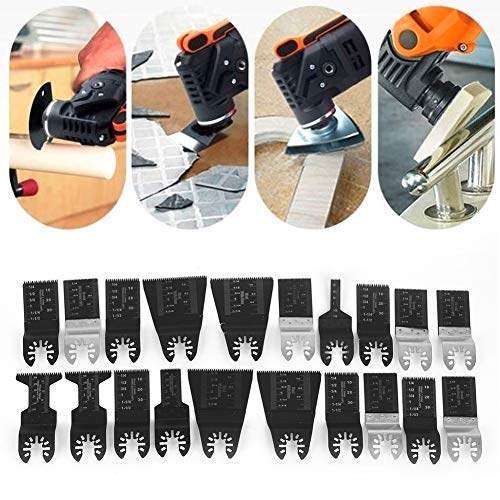 Purchase Boquite Oscillating Saw Blades, Oscillating Blades High Carbon Steel Wood Cutting Tool, Wor...