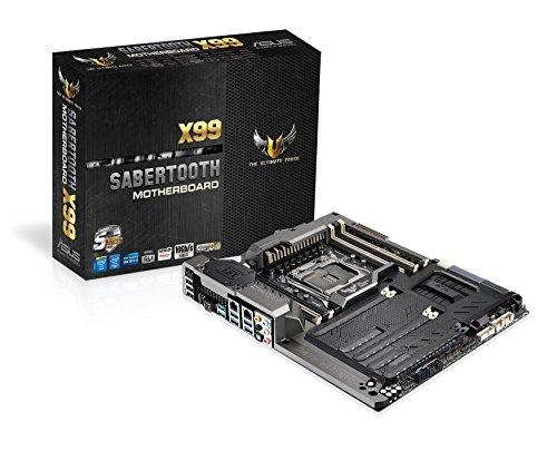 Asus TUF SABERTOOTH X99 LGA2011-V3 DDR4 M.2 SATA 6Gb/s USB