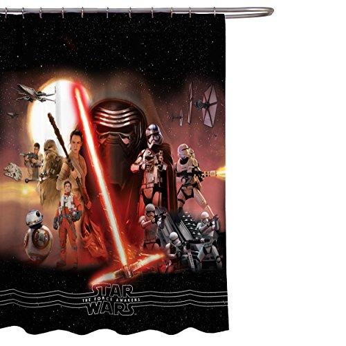 cortina star wars fabricante Lucas Film