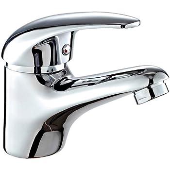 Plateado DP Grifer/ía GSP001 Grifo de lavabo serie Limonero