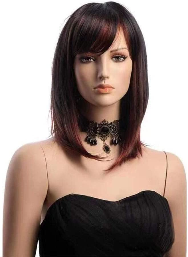 SJY Wig Wigs OFFicial site Ms. Oblique Bobo Challenge the lowest price Long European and Bla American