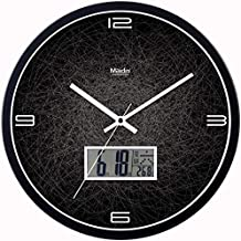 Watches And Clocks Wall Clock Living Room Bedroom Mute Personality Creative Simple Clock Decorative Quartz Clock Creative ...