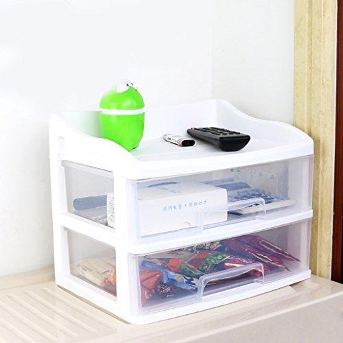 Office Tafel Opbergdoos Kunststof Multifunctionele Lade Stijl Afwerking Frame Dressoir Cosmetische Opbergdoos