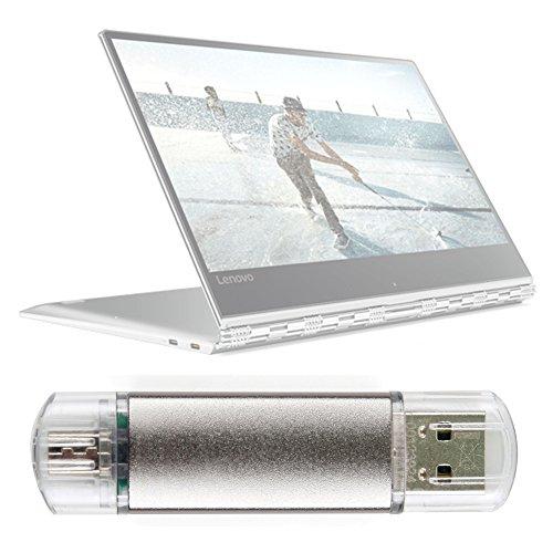 DURAGADGET Pendrive USB 2.0 con conexión USB y Micro USB - 16 GB para Portátil Lenovo Yoga 910 / ASUS ZenBook Flip UX360CA / Pro UX501VW / UX310UA