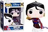 Funko - Figurine Disney - Mulan Glitter Diamond Exclusive Pop 10cm - 0889698291309