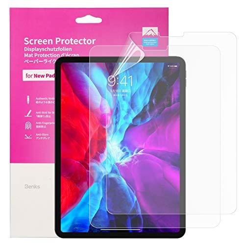 BENKS 2 Stück Bildschirmschutzfolie für iPad Air 4 2020 10,9 Zoll, iPad Pro 2021, 2018 und 2020 11 Zoll Schutzfolie Matt Schreiben Paper Feel Folie für ipad Air 4 10.9