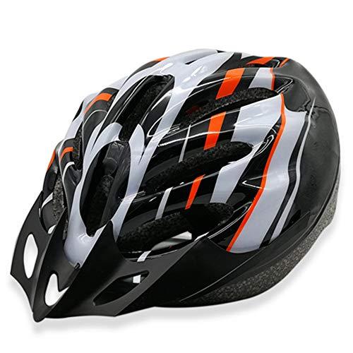 TTBF Gafas Desmontables Casco para Bicicleta con Pantalla Visor Ciclismo Ajustable Bicicleta...