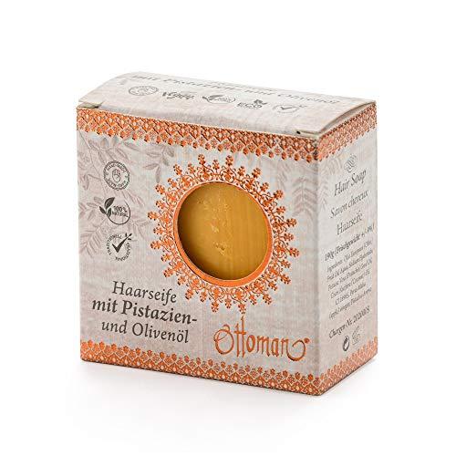 2x ottoman Haarseife 190g mit Pistazien- und Olivenöl