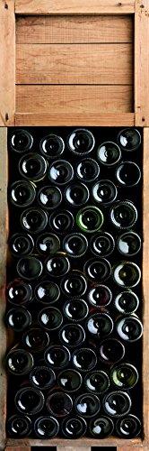 DECORATION adhésive pour CUISINE et réfrigérateurs Cave Autocollant, Polyvinyle, Multicolore, 59,5 x 0,1 x 180 cm