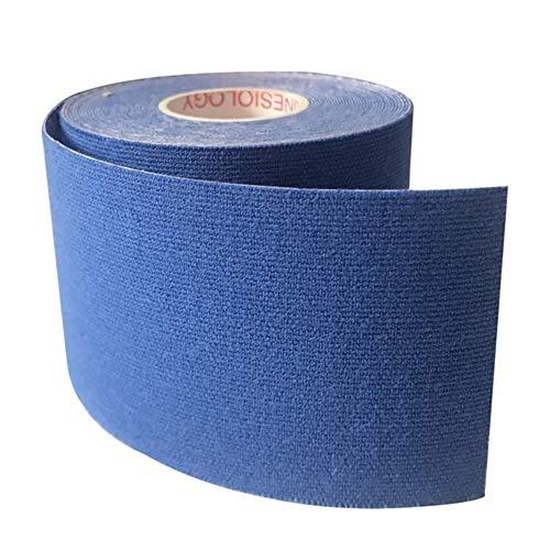 LOOEST Sport Kinesiologie Band 12pcs / Lot Kinesiology Tape-athletischer Sport Tapes wasserdichte Knie Schulter Knöchel Ellenbogen Pflaster für Sport (Color : Navy Blue, Size : 2.5cmx5m)