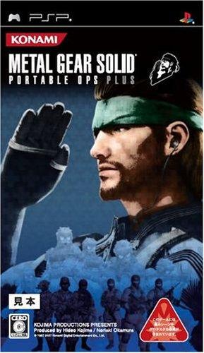 Metal Gear Solid Portable Ops [Importación Japonesa]